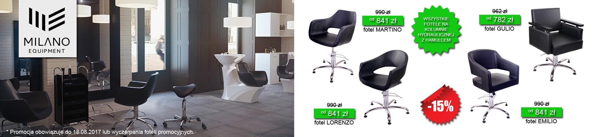 MDM Milano promocja -20% fotel EMILIO LORENZO MARTINO GULIO
